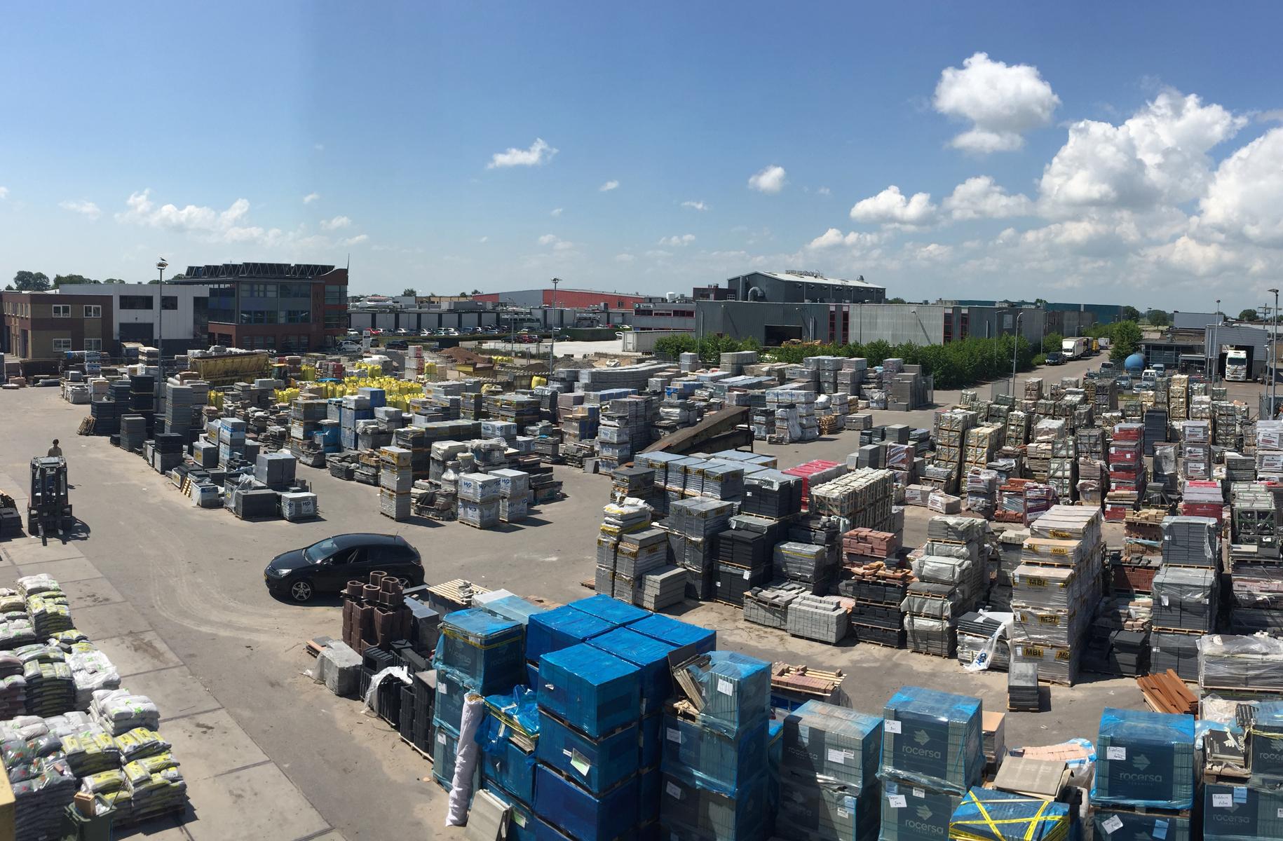 Import tuinmaterialen voor groothandelaren